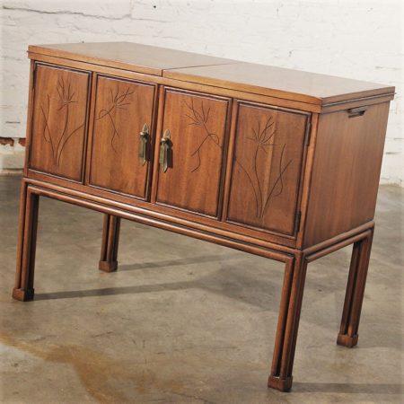 Mid Century Modern Bar or Server by Davis Cabinet Company