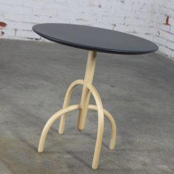 Knoll Saguaro Cactus Wood Base Table with Slate Top by Lawrence Laske