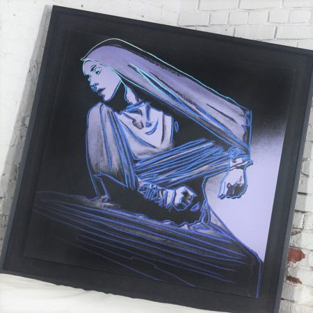 Andy Warhol Lamentation #388 from the Martha Graham Series 1986 - Signed Screen Print