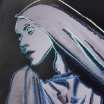 Andy Warhol Lamentation #388 from the Martha Graham Series 1986 – Signed Screen Print