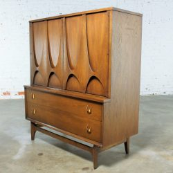 Mid-Century Modern Broyhill Brasilia 6130-41 Door Chest – Gentleman's Chest