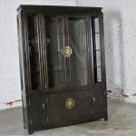 Vintage Chin Hua Collection China Display Cabinet or Book Case by Century Furniture