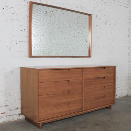 Dresser & Mirror by Milo Baughman for Drexel Today's Living Line Vintage Mid Century Modern