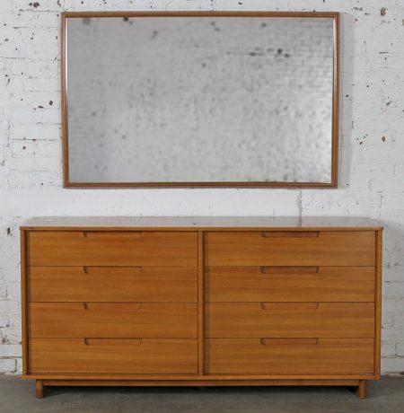 Dresser & Mirror by Milo Baughman for Drexel Today's Living Line Vintage Mid Century Modern