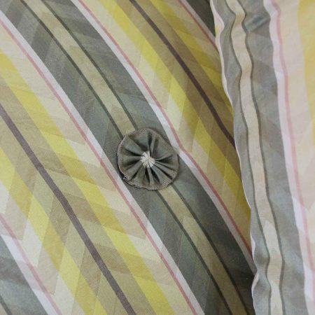 Vintage Donghia Yellow Stripe Spirit Sofa by John Hutton