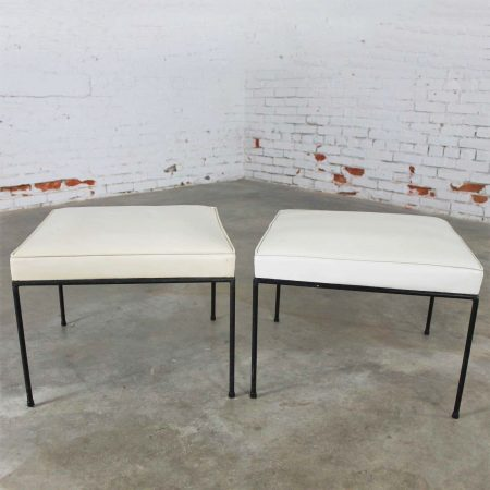 Paul McCobb Planner Group All 'Round Square Stools for Winchendon Mid Century Modern