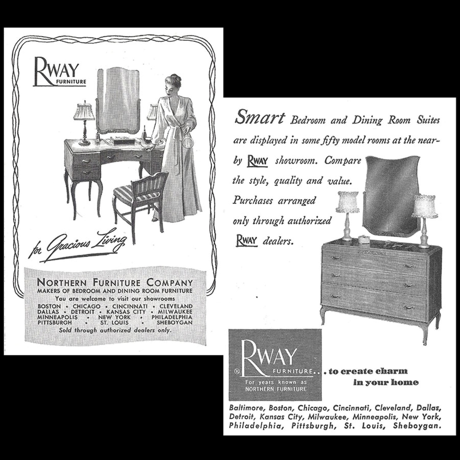 Phenomenal Art Deco Style Vanity With Mirror And Chair By Rway Northern Gamerscity Chair Design For Home Gamerscityorg