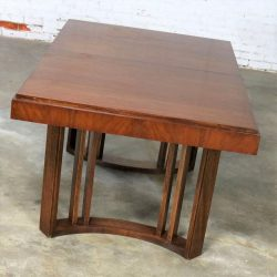 Architectural Modern Dining Table by Morris of California Mid Century Modern