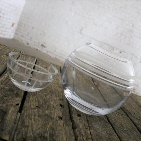 Kate Spade Crystal Bowls an Unmatched Pair