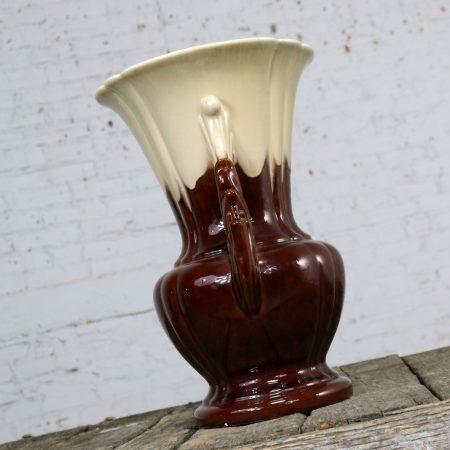 S and G Keramik Monumental Classic Style German Ceramic Floor Vase