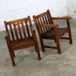 Vintage Windsor Natural Teak Outdoor Armchair