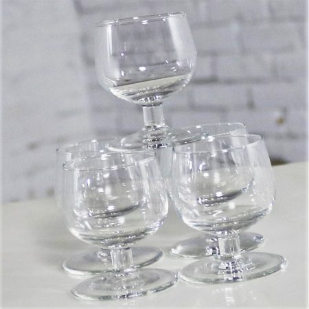 Tinka Decanter Set with Five Glasses by A. D. Copier for Royal Leerdam Holland