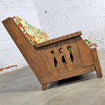 Ranch Oak Western Style Sofa Attributed to A. Brandt Company