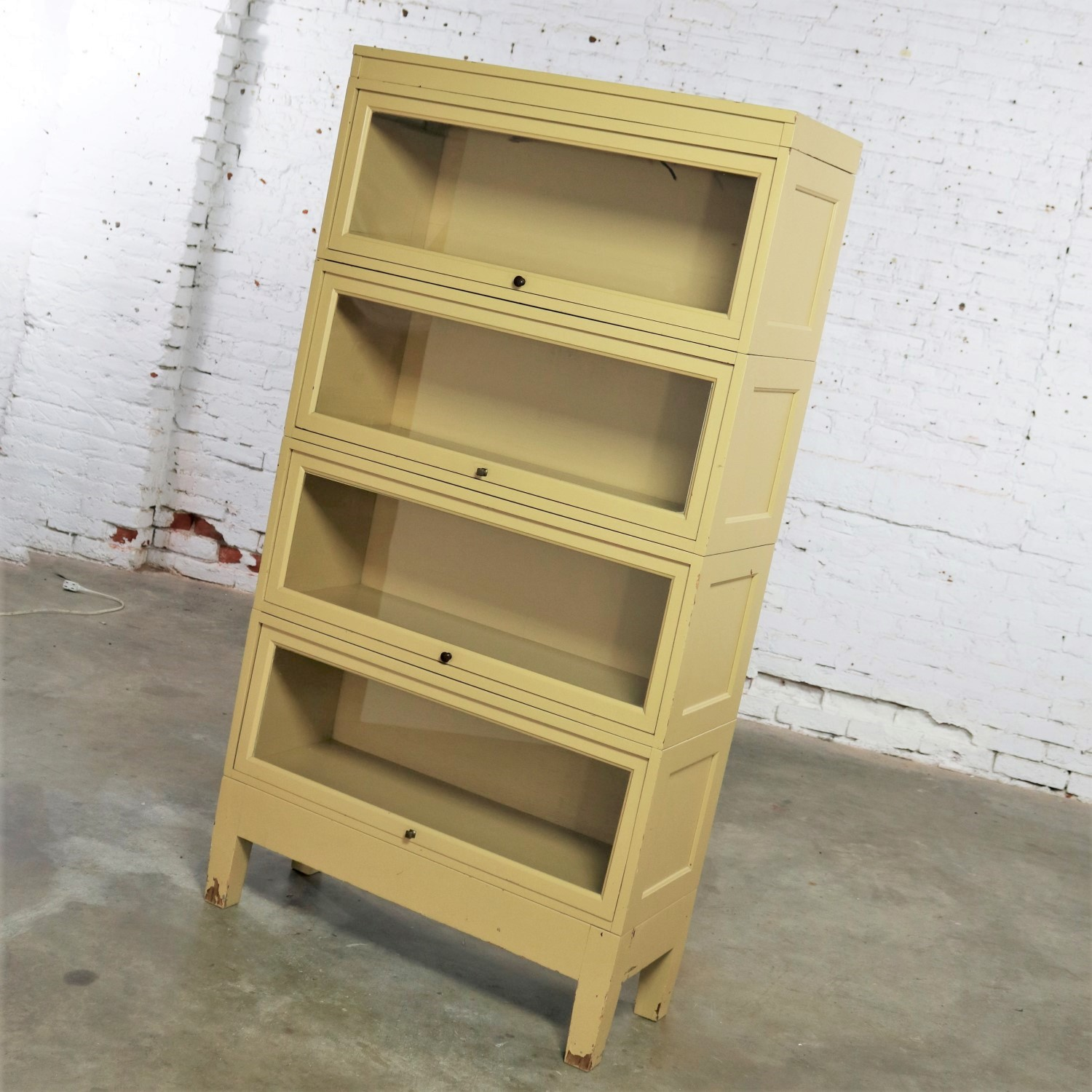 Industrial Barrister Stacking Bookcase Globe Wernicke