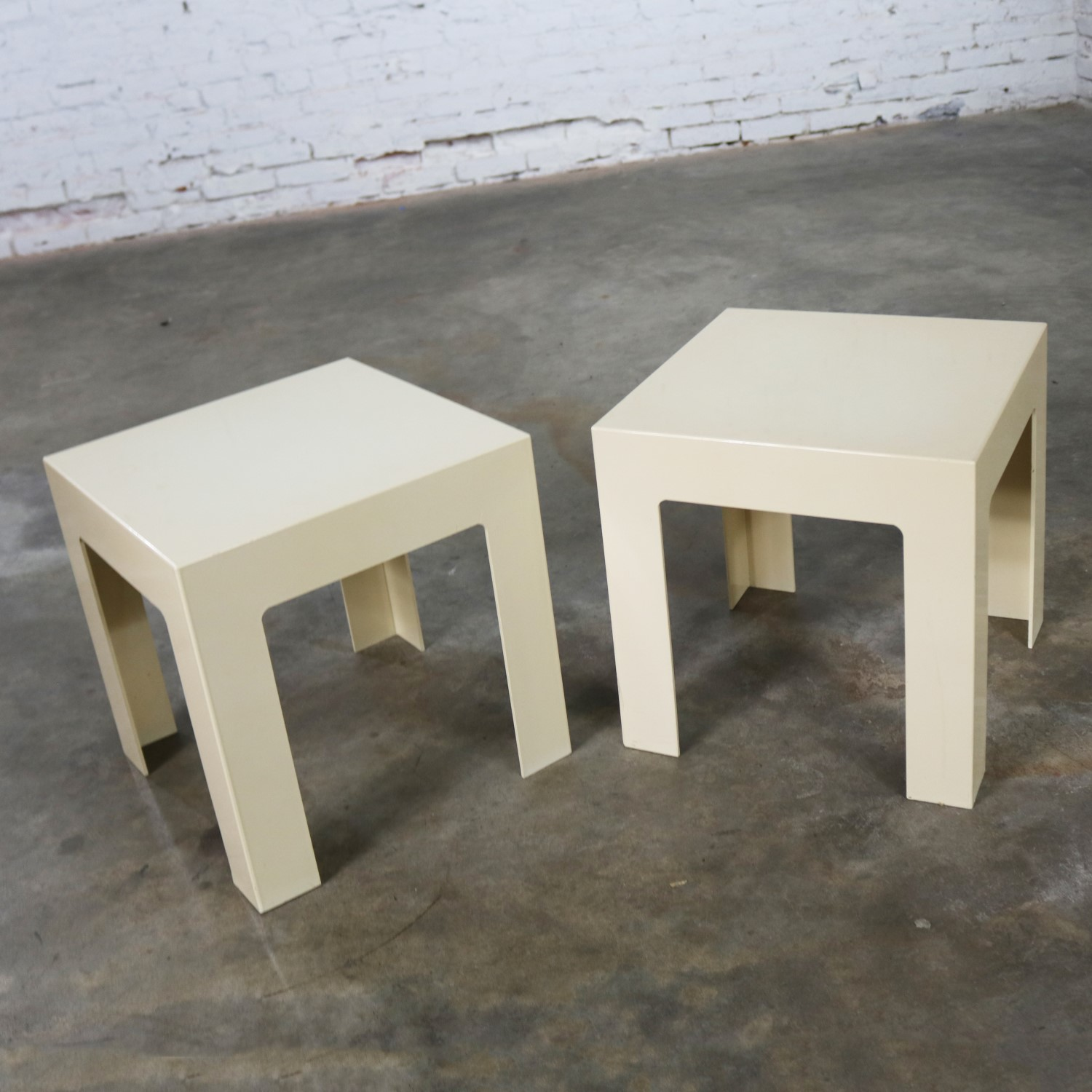 Side Tables Antique White Style Kartell