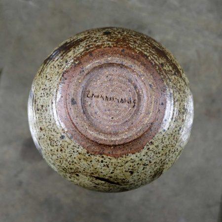 Mid Century Modern Studio Ceramic Stoneware Pot by Mark Zamantakis