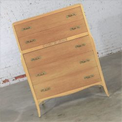 Art Deco Style Tall Chest of Drawers by Rway Northern Furniture Company of Sheboygan
