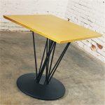 Marquette Single Pedestal Table by Leland International