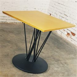 Marquette Single Pedestal Table by Leland International