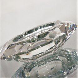 Vintage Val St. Lambert Crystal Amadis Art Deco Ashtray