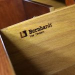 Bernhardt Flair Division Shibui Collection Asian Inspired Buffet or Chest of Drawers