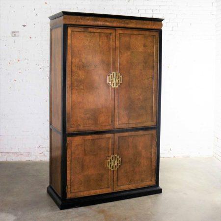 Large Chin Hua Entertainment Storage Armoire by Raymond K. Sobota for Century Furniture