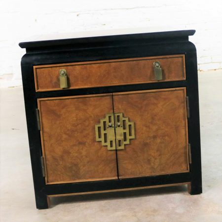 Chin Hua Night Stand or End Table Cabinet by Raymond K. Sobota for Century Furniture