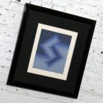 Sembe by Victor Vasarely Serigraph in Color Pencil Signed Numbered