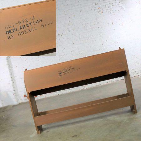 Drexel Declaration Full-Size Bookcase Headboard by Kipp Stewart and Stewart MacDougall