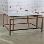 Vintage Rosewood & Glass Coffee or Cocktail Table by Henning Norgaard for Komfort
