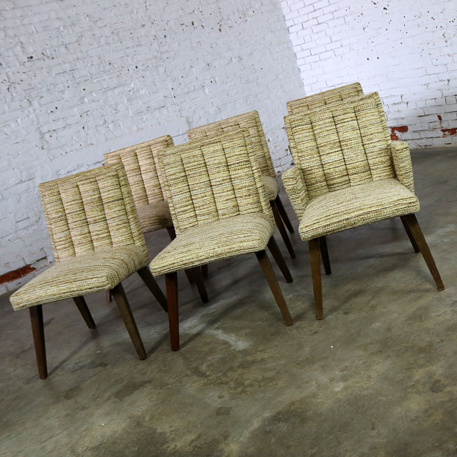 California Mid Century Modern: Architectural Modern Dining Chairs By Morris Of California