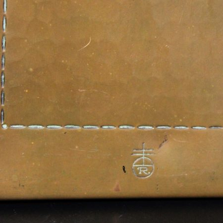 Antique Pair of Roycroft Hammered Copper Bookends