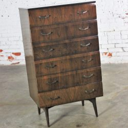 Mid Century Modern Tola Chest of Drawers by Alphons Loebenstein for Meredew Design '62