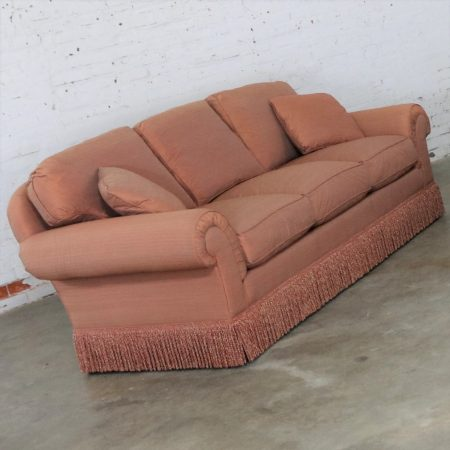 Baker Sofa Lawson Style from the Crown and Tulip Collection Terracotta - ONLY ONE LEFT