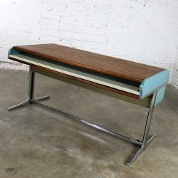 MCM Herman Miller Action Office l Roll Top Desk by George Nelson and Robert Propst