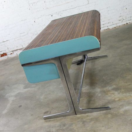 MCM Herman Miller Action Office I Roll Top Desk by George Nelson and Robert Propst