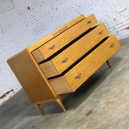 Art Deco Style Low Dresser by Rway Northern Furniture Compa