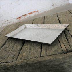 Michael Aram Cast Aluminum Flint Collection Rectangular Tray