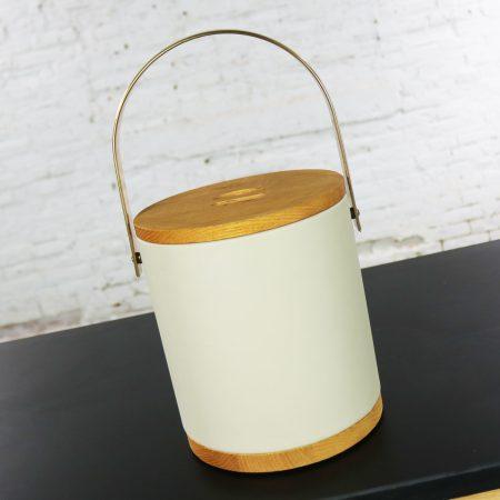 Mid Century Modern Morgan & Company Bucket Brigade Ice Bucket