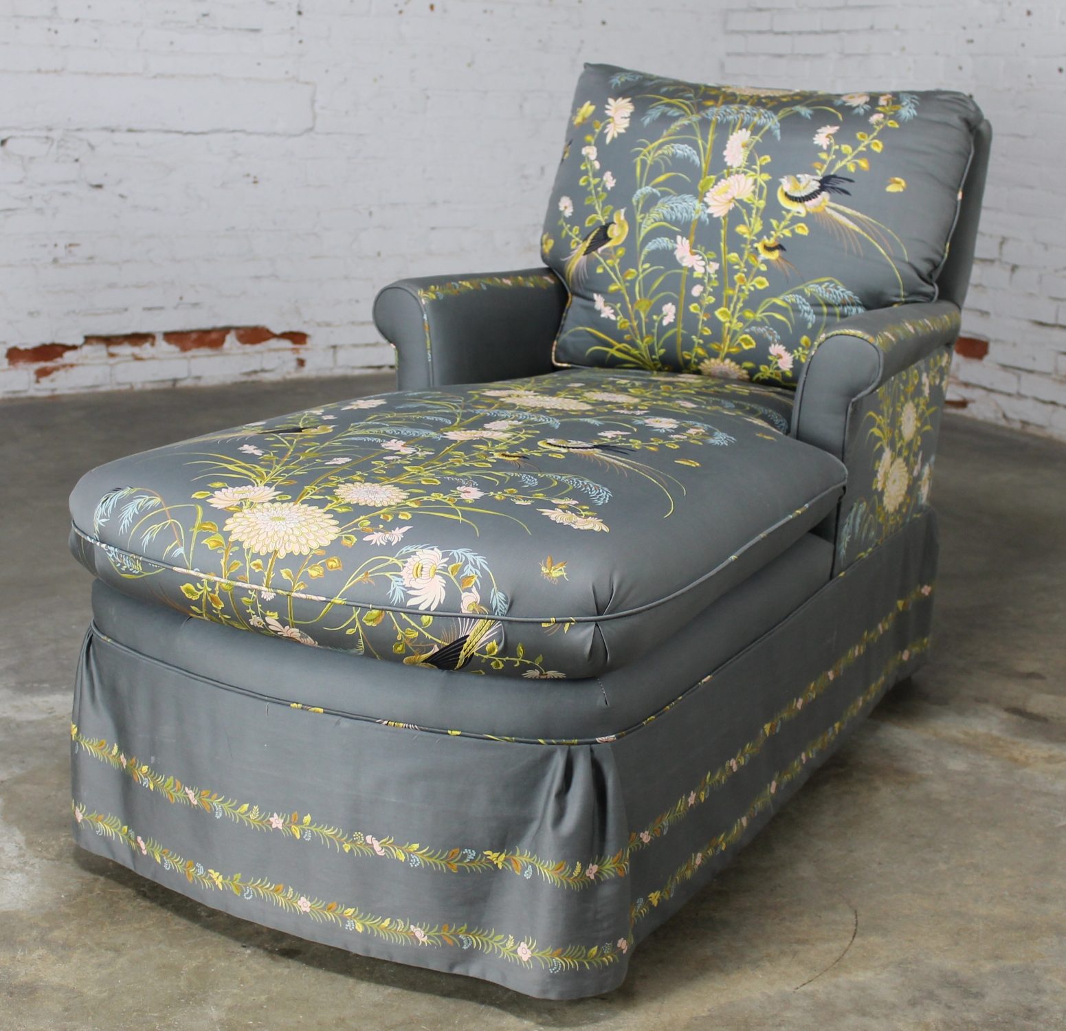 Vintage 1940 S Double Armed Chaise Lounge Newly