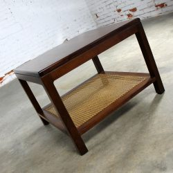 Founders Furniture Square End Table Vintage Mid Century Modern
