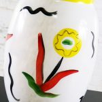 Large Hand Painted Kosta Boda Atelier Vase by Ulrica Hydman-Vallien Limited Edition