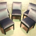 Vintage Baker Far East Collection Style Dining Chairs