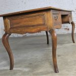 Vintage Baker French Louis XV Style Writing Desk