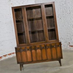 Kent-Coffey Perspecta China Display Cabinet Mid Century Modern