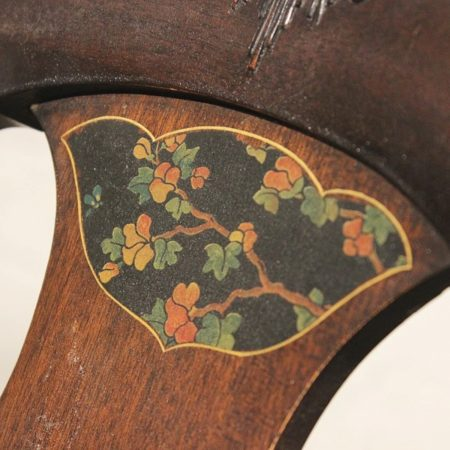Set of Six Charles P. Limbert Arts and Crafts Furniture Co. Art Deco Chinoiserie Chairs