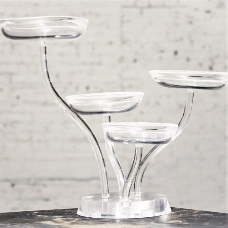 Vintage Lucite Four Part Candy Dish or Display