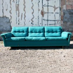 Danish Mid Century Modern DUX Style Sofa
