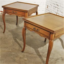 Vintage Pair Widdicomb French Provencial Lamp or End Tables
