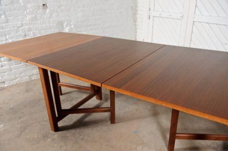 Vintage Bruno Mathsson Style Maria Folding Table